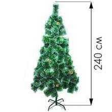 Новогодняя елка 240 см высокого качества