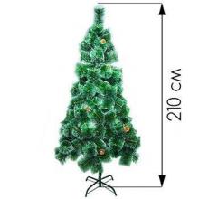 Новогодняя елка 210 см высокого качества